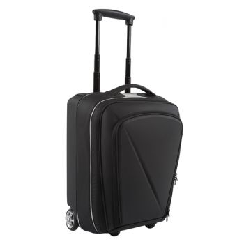 Semi-rigid front cargo travel bag