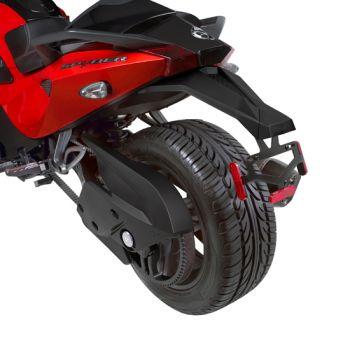 Parafango posteriore sportivo (non omologato EC)
