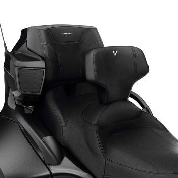 Schienale regolabile per il guidatore per sella comfort