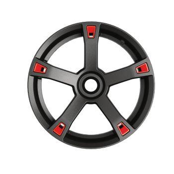 Accenti ruote - Rosso Adrenaline