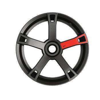 Decalcomanie ruote - Rosso Adrenaline