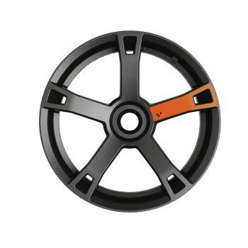 Decalcomanie ruote - Arancione Blaze
