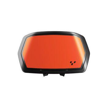 Decalcomanie per spoiler per strumentazione - Arancione Blaze