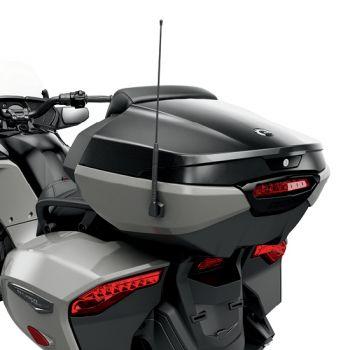 Bauletto posteriore con schienale integrato per il passeggero - Nero