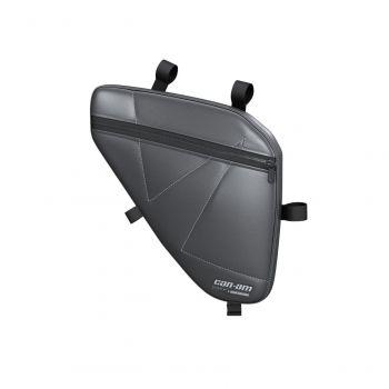Vano portaoggetti imbottito per porte sportive in alluminio - anteriore