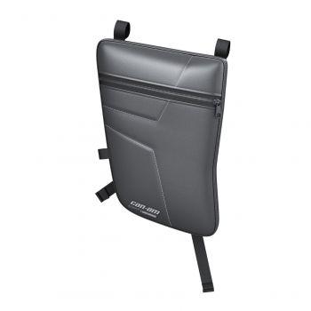 Vano portaoggetti imbottito per porte sportive in alluminio - posteriore