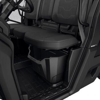 Contenitore portaoggetti sotto il sedile del guidatore