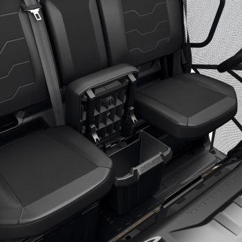 Contenitore portaoggetti sotto il sedile centrale
