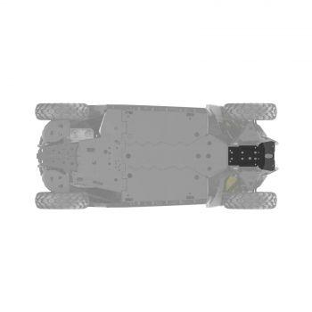 Piastra salvatelaio anteriore in HMWPE