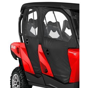 Porte e pannello posteriore flessibile